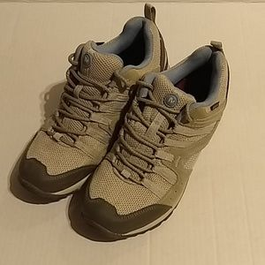 Merrell Tuskora Waterproof Hiking Sneaker Gray 8
